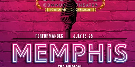 A Night at the Theater - Memphis the Musical tickets