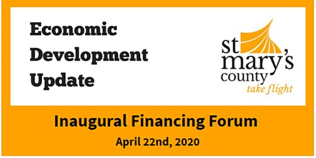 St. Mary's County Inaugural Financing Forum tickets
