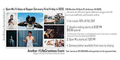 Open Mic Fridays at Dapper Cat tickets