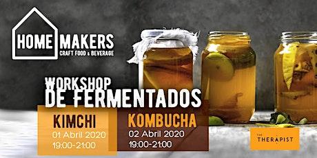 Workshop de fermentados: Kimchi & Kombucha bilhetes