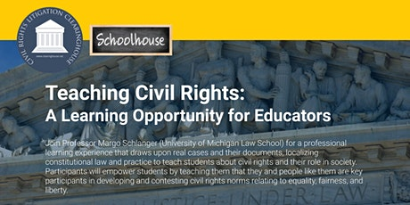 Teaching Civil Rights tickets