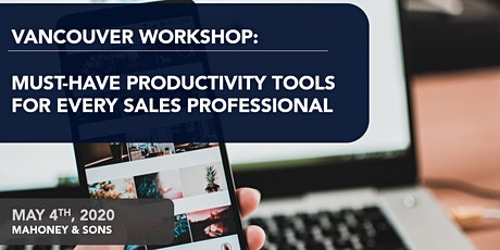 Must-Have Sales Productivity Tools for every Sales Professional tickets