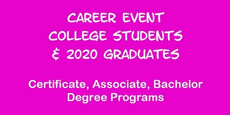 Career Event for Ohio State U Students tickets