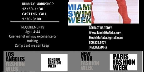 Fashion Week  Tour : MIAMI SWIM  WEEK /MIAMI ART BASEL tickets