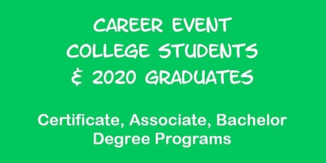 Career Event for U. of Maryland Students tickets
