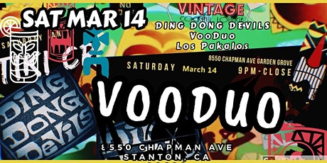 Copy of TURNT TIKI featuring VooDuo, Ding Dong Devils, Los Pakalos tickets