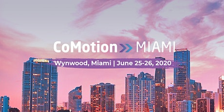 CoMotion MIAMI tickets