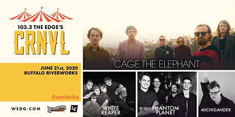 POSTPONED - Cage The Elephant - 1033 The EDGE CRNVL Date to be rescheduled tickets