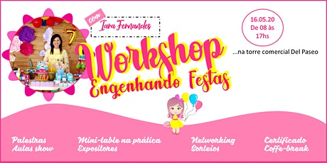 Workshop Engenhando Festas ingressos