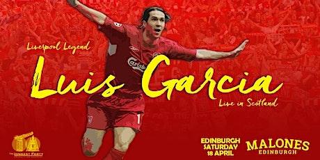 An Evening with Luis Garcia  in Edinburgh tickets