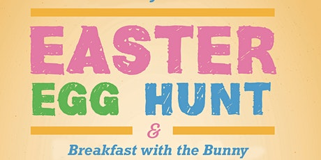 Easter Egg Hunt & Breakfast with the Bunny - @ Memorial Park tickets