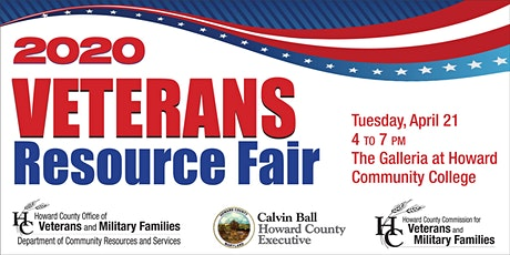 CANCELLED: Howard County Veterans and Military Families Resource Fair and Celebration tickets