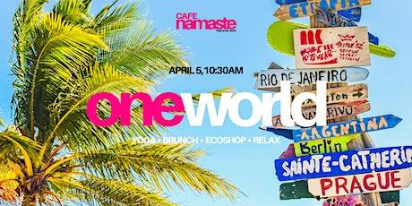 Cafe Namaste: One World tickets