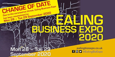 Ealing Business Expo: Mon 28 - Tue 29 September 2020 tickets