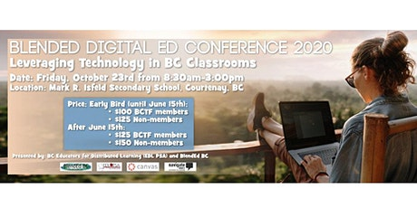 Blended Digital Ed Conference 2020 - Leveraging Technology in BC Classrooms tickets