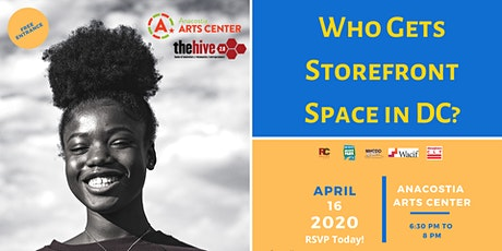 Who Gets Storefront Space In DC? tickets