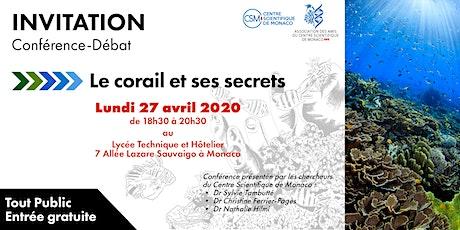Conférence «Le Corail et ses secrets» billets