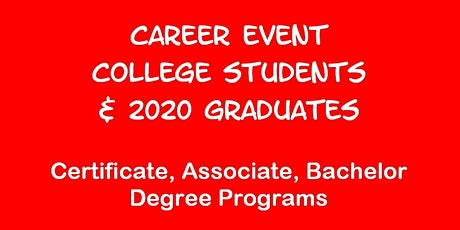 Career Event for Arizona State U Students tickets