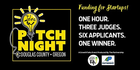 ALL EVENTS POSTPONED; STAY TUNED FOR UPDATES: GrowthTalks Pitch Night tickets