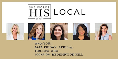 She Works HIS Way Winston-Salem Meet Up tickets