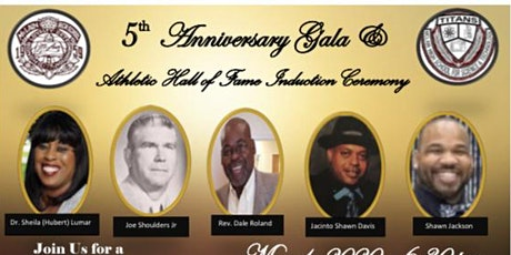 5th Annual Athletic Hall Of Fame Induction Ceremony and Fundraiser tickets