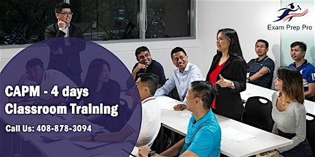 CAPM (Certified Associate in Project Management) Training in San Francisco tickets