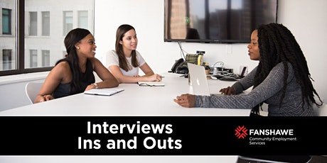 Interview Ins & Outs Workshop tickets
