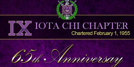 Iota Chi 65th Anniversary Fellowship @ the 1st District Conference tickets