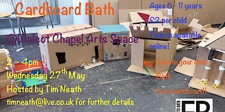 Cardboard Bath tickets
