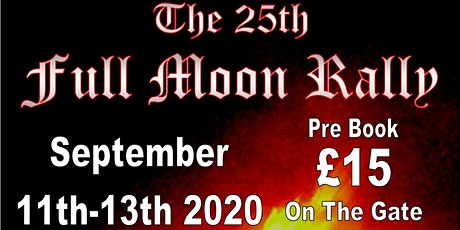 The 25th Full Moon Rally tickets