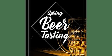 Spring Beer Tasting tickets