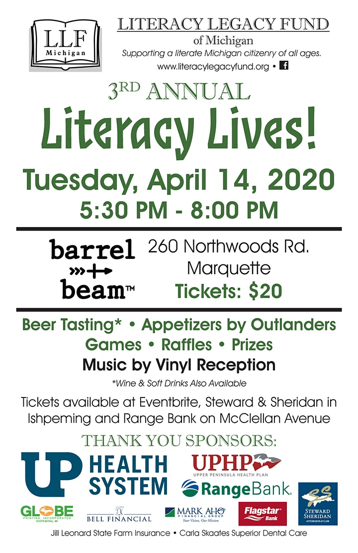 3rd Annual Literacy Lives! image