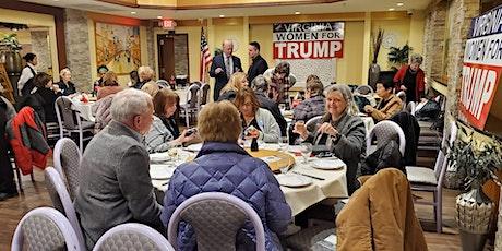 VIRGINIA WOMEN FOR TRUMP - SPEAKER SERIES /DINNER, MAY 28, 2020 tickets