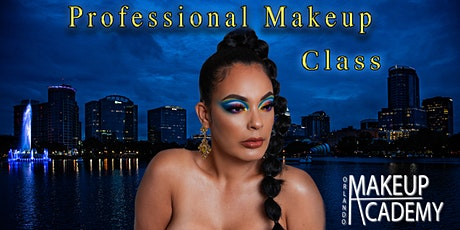 Professional Makeup Class (16 clases ) tickets