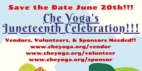 Che Yoga's Juneteenth Celebration!! tickets