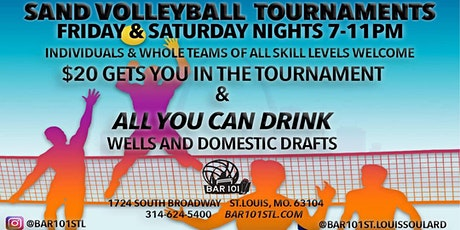 Bar 101 Weekend Sand Volleyball Tournaments tickets
