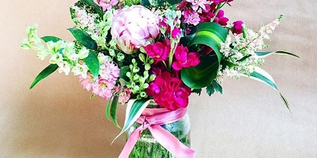 Jam Jar Flower Arrangements tickets