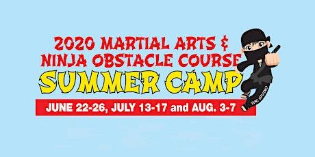 Kids' Martial Arts & Ninja Summer Camp (July 13-17) tickets