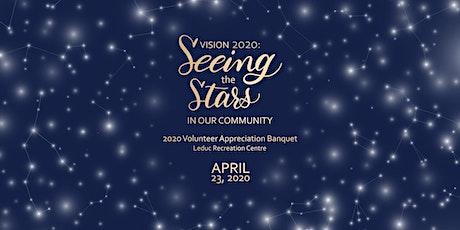 2020 City of Leduc Volunteer Appreciation Banquet tickets