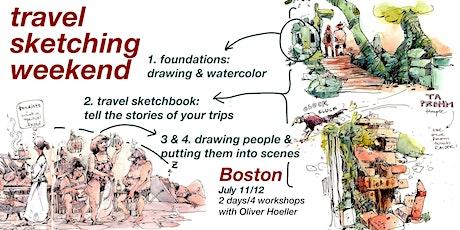 Boston - travel sketching weekend! tickets