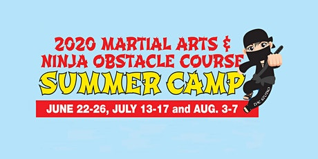 Kids' Martial Arts & Ninja Summer Camp (August 3-7) tickets