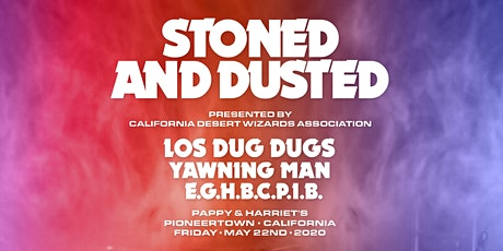 Stoned and Dusted Welcome Party! tickets