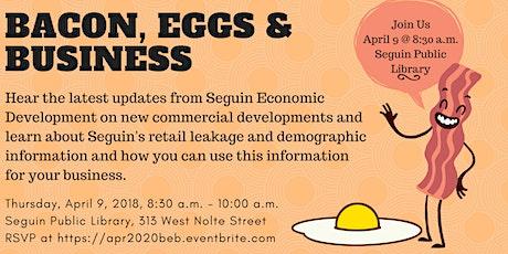 April 2020 Bacon, Eggs & Business - Retail Leakage and Economic Development tickets