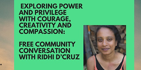 Exploring Power and Privilege with Courage, Creativity, and Compassion tickets