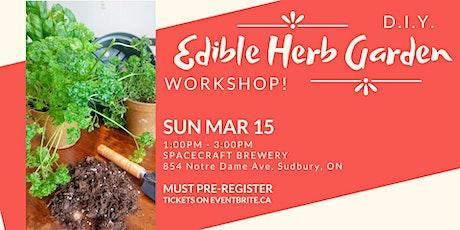 Edible Herb Garden tickets