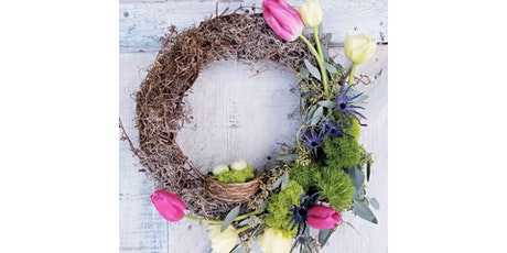 """VIRTUAL EVENT: 4/8 - Corks and Canvas Event """"Wine & Wreath"""" tickets"""