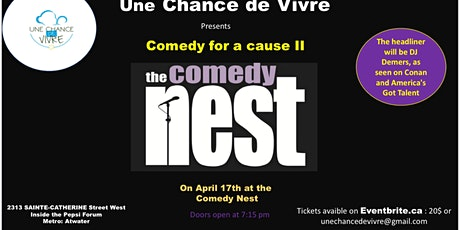 Comedy for cause II tickets