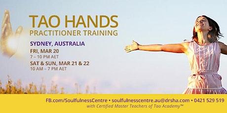 Tao Hands Practitioner Workshop tickets
