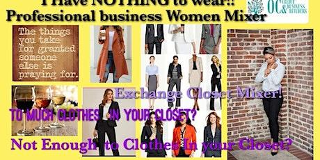 Exchange your Wardrobe Business WOMEN MIXER tickets