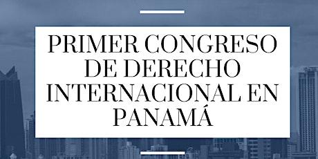 Primer Congreso de Derecho Internacional en Panamá entradas